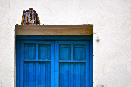 blue door libro